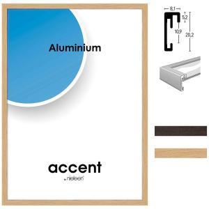 Cornice in alluminio Duo