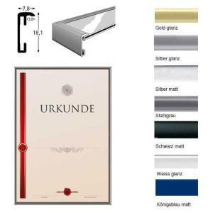 Cornice in alluminio per certificati - la cornice di alta qualità