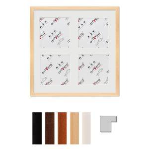 """Cornice galleria per 4 """"Uppsala"""", 40x40 cm - 15x15 cm"""