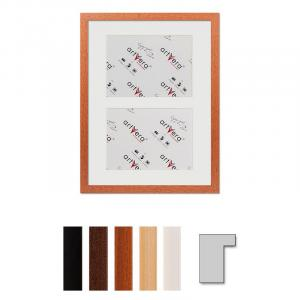 "Cornice galleria per 2 ""Lund"", 30x40 cm - 15x20 cm"