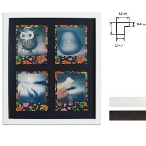 Cornice per 4 immagini istantanee- Typ Polaroid 600