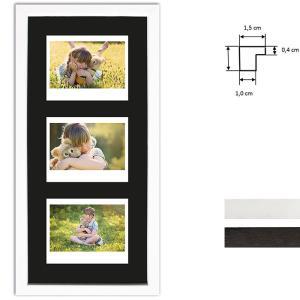 Cornice per 3 immagini istantanee- Typ Instax Wide