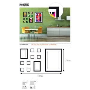 "Galleria per parete ""moderno"""
