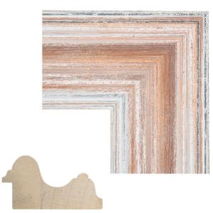 Cornice in legno su misura Giomano