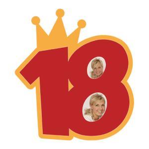 "Passe-partout a tema ""18 - corona"""