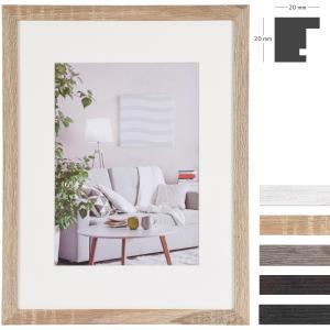 MDF-Cornice in legno Modern con passe-partout