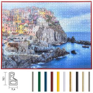 Cornice per puzzle su misura fino a 100x100 cm in materiale sintetico