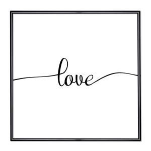 Cornice con motto - Love 1
