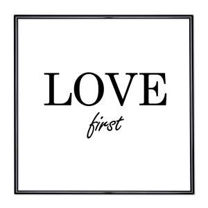 Cornice con motto - Love First