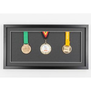 Cornice per medaglie 25x50 cm, nero