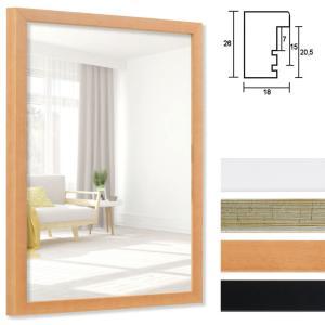 Cornice per specchi Figari su misura