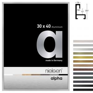 Cornice in alluminio profilo alpha