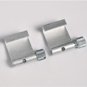 2 pezzi ganci in alluminio