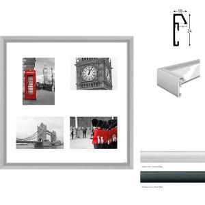 Cornice galleria Junior quadrato 4 immagini