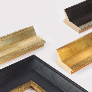 Cornice in legno su misura, Herconage 105