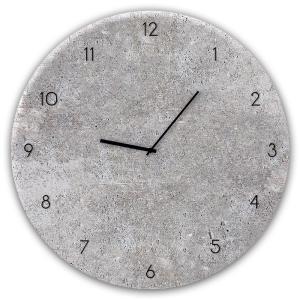 orologio in vetro CONCRETE 2