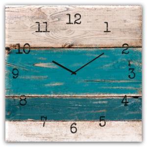 orologio in vetro BLUE WOOD