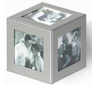 Dado per foto in alluminio
