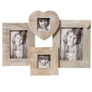 Portaritratti multiplo Le Coeur per 4 foto