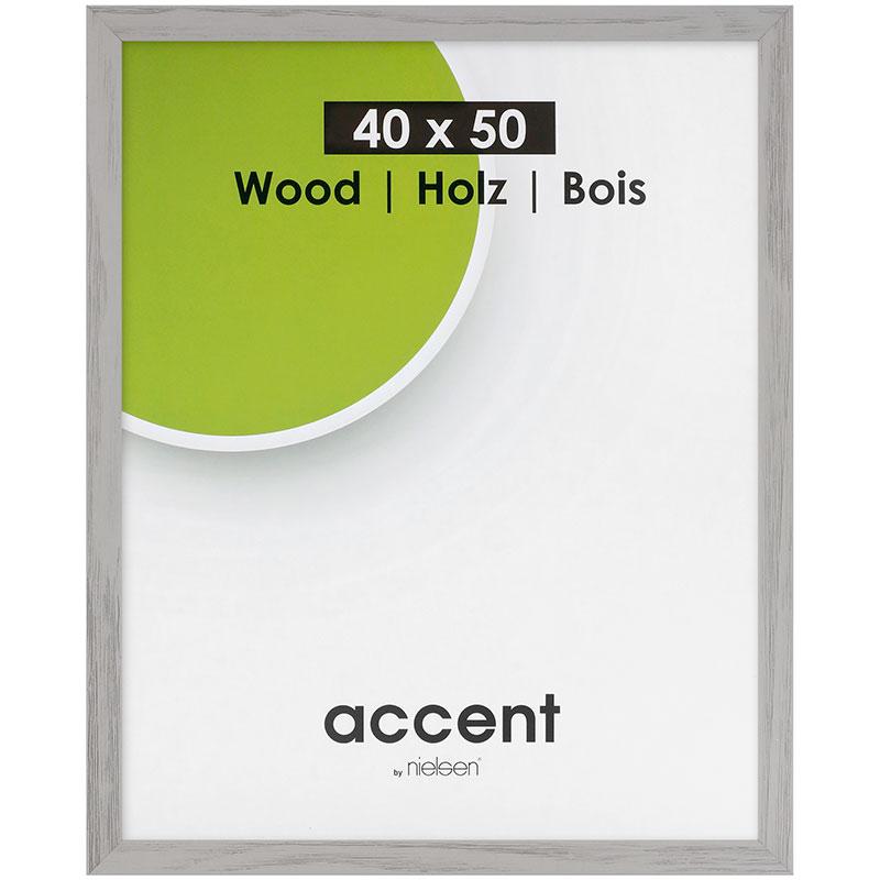 Cornice in legno Magic 60x80 cm | grigio | vetro standarde