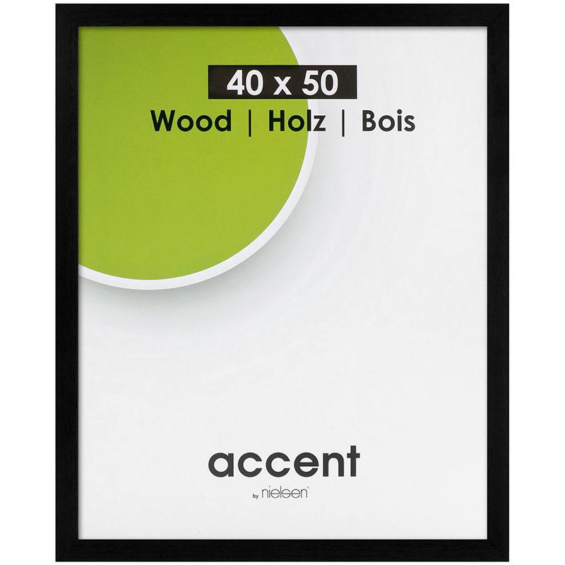 Cornice in legno Magic 60x80 cm   nero   vetro standarde