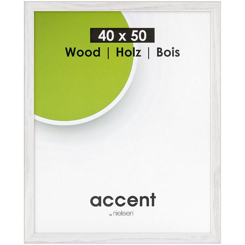 Cornice in legno Magic 60x80 cm | bianco | vetro standarde