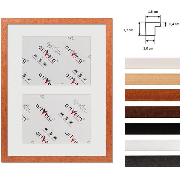 """Cornice galleria per 2 """"Uppsala"""", 30x40 cm - 15x20 cm"""