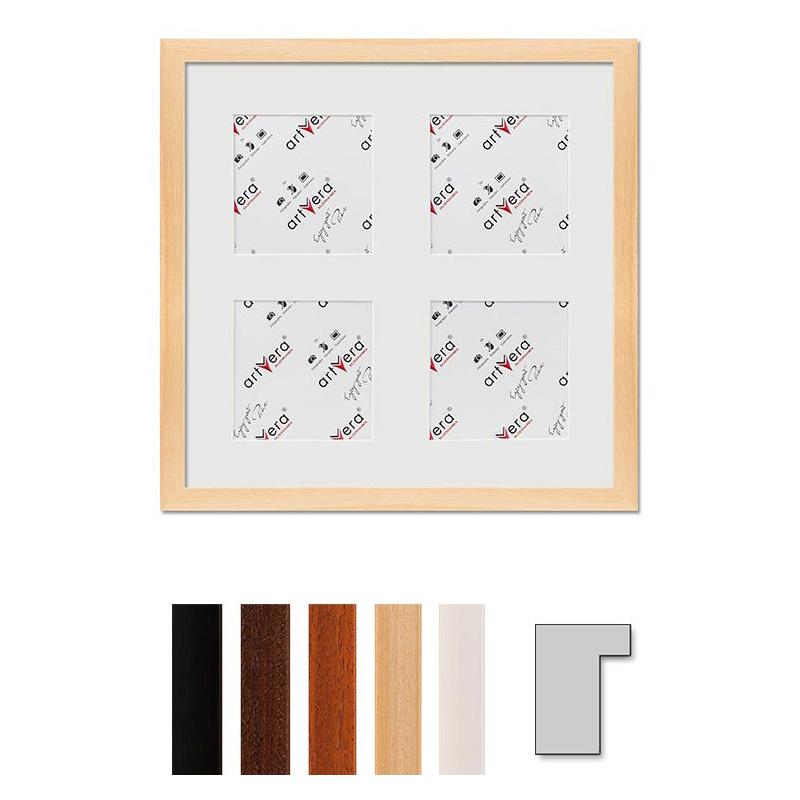 "Cornice galleria per 4 ""Lund"", 30x30 cm - 10x10 cm"