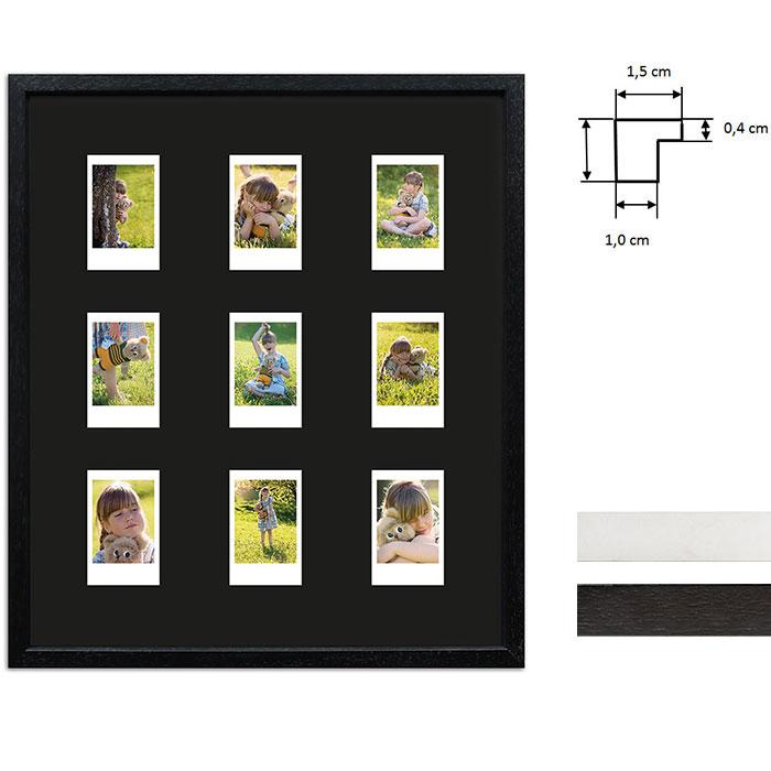 Cornice per 9 immagini istantanee- Typ Instax Mini