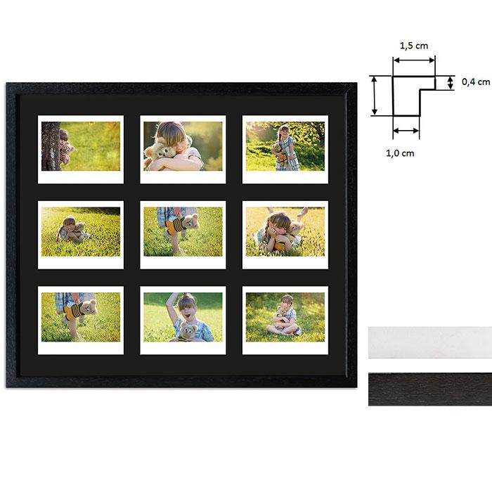 Cornice per 9 immagini istantanee- Typ Instax Wide