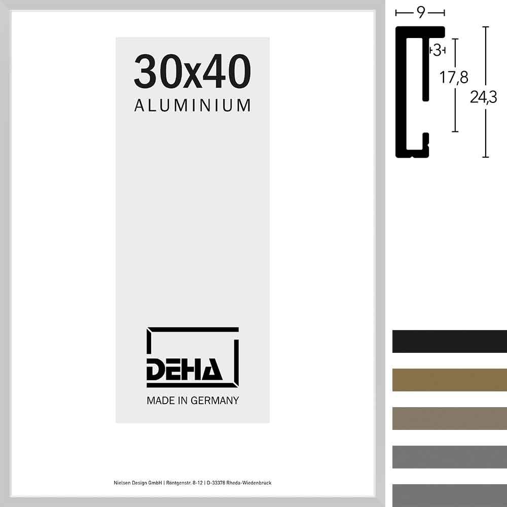 Cornice in alluminio Vega su misura