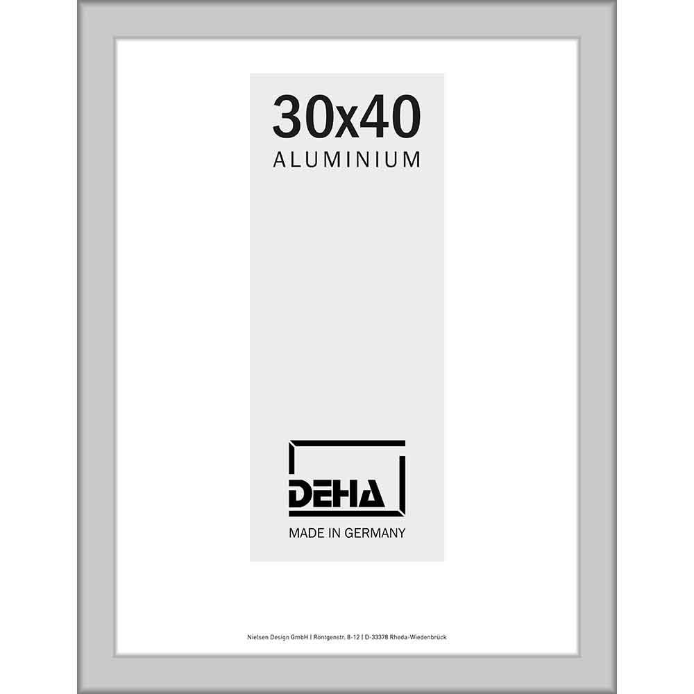 Cornice a distanza in alluminio Spika XL su misura naturale opaco | vetro artificiale