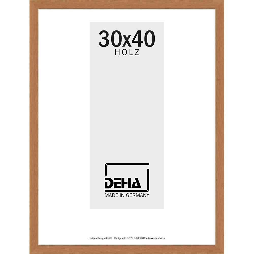Cornice in legno Hamal 70x80 cm | ciliegia | vetro artificiale