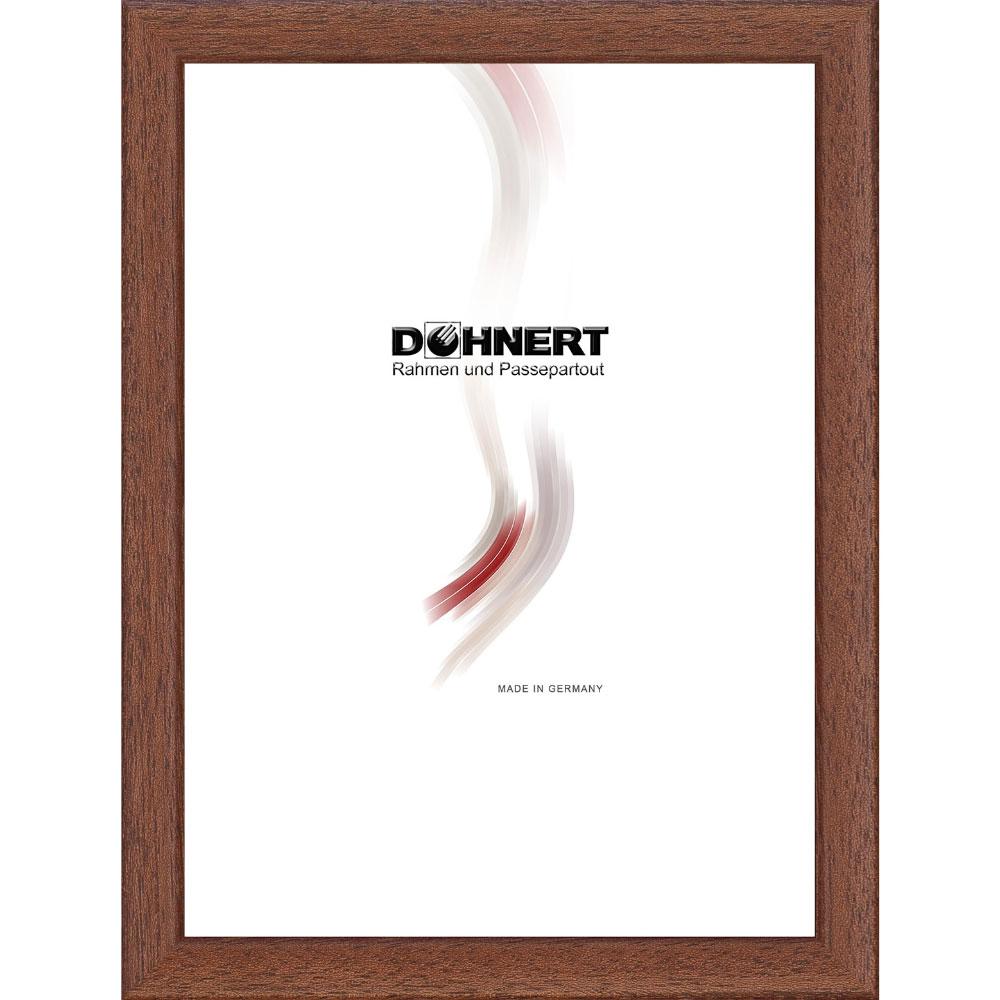 Cornice in legno Bayswater 7x10 cm | marrone | vetro normale