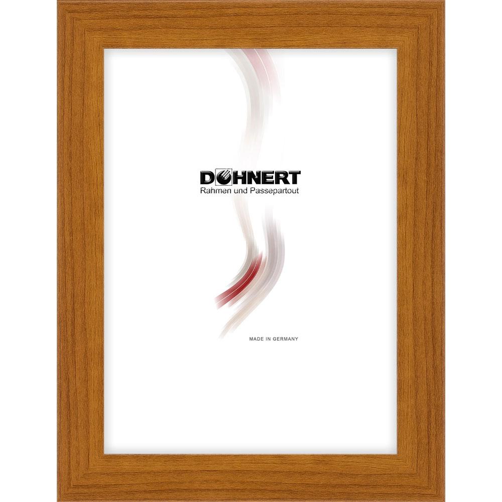 Cornice di plastica Burnt Oak 7x10 cm | marrone | vetro normale