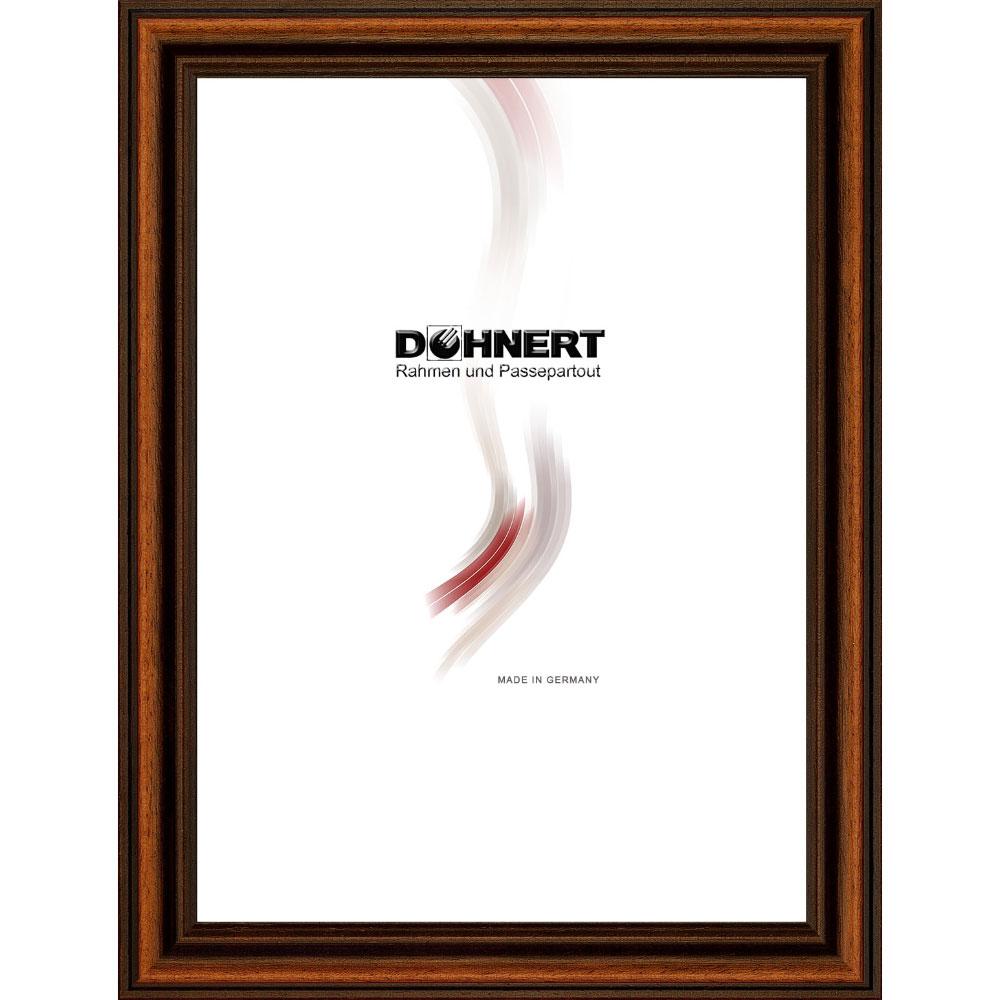 Cornice in legno Latimer 9x13 cm | marrone | vetro standarde