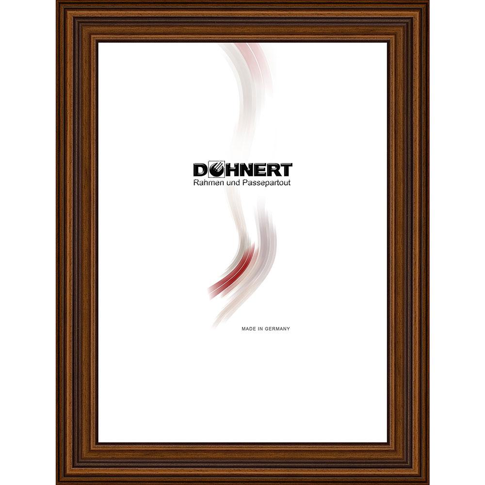 Cornice in legno Clapham Common 50x100 cm | marrone | vetro standarde