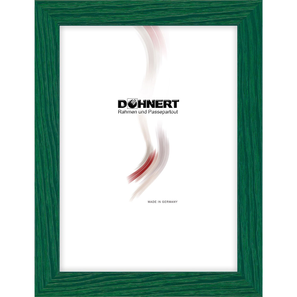 Cornice in legno Clapham South 18x18 cm | verde | vetro standarde
