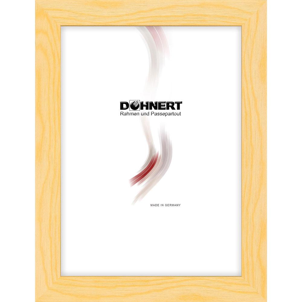 Cornice in legno Clapham South 30x60 cm | naturale | vetro standarde