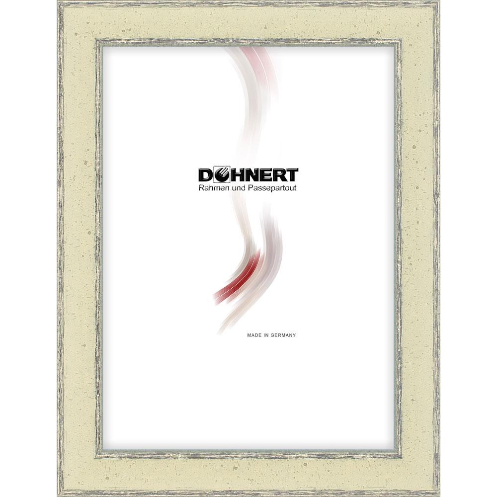 Cornice in legno Dagenham East 70x100 cm | grigio | vetro standarde
