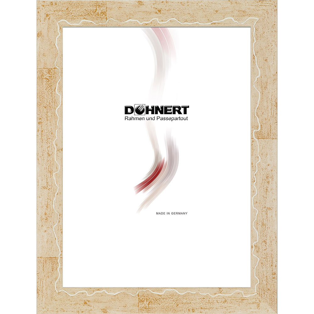 Cornice in legno Dagenham Heathway 7x10 cm | beige | vetro normale