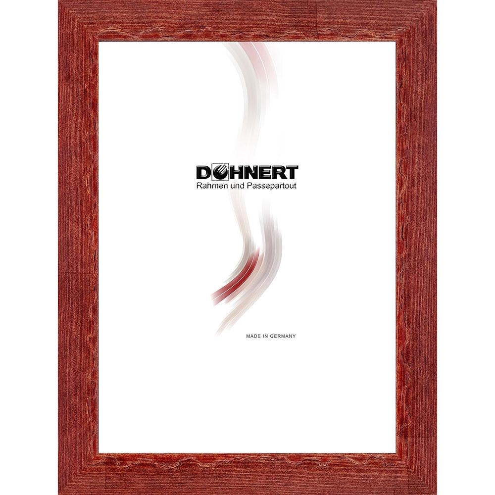 Cornice in legno Dagenham Heathway 7x10 cm | Brombeerrot | vetro normale