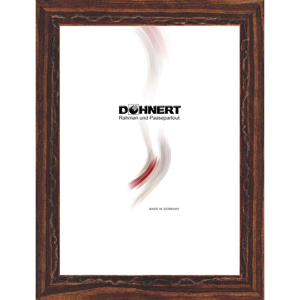 Cornice in legno Dagenham Heathway 50x100 cm | marrone caffé | vetro standarde