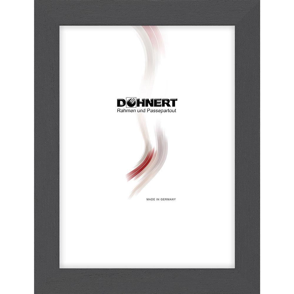 Cornice in legno Debden 50x100 cm | grigio | vetro standarde
