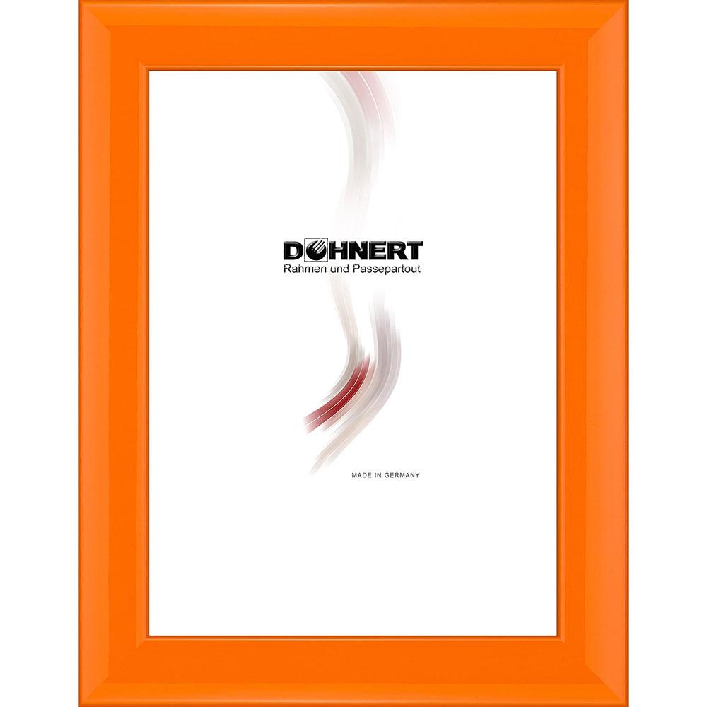 Cornice in legno Alexandra 30x45 cm | arancione | vetro antiriflesso