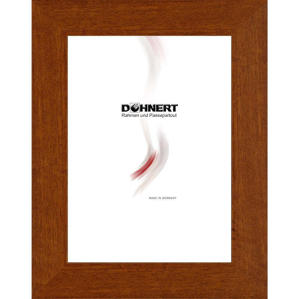 Cornice in legno Harrow 28x35 cm | marrone | vetro normale