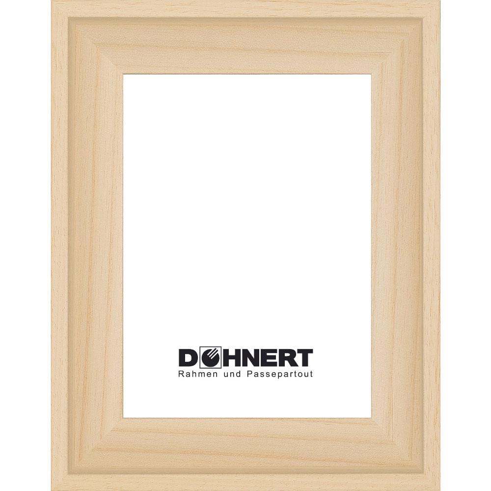 Profilato di tenuta Rochford 7x10 cm | naturale | cornice senza vetro e supporto sul retro