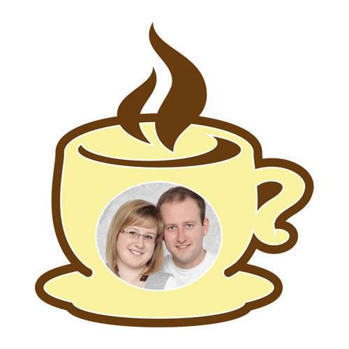 """Passe-partout a tema """"tazza da caffè"""""""