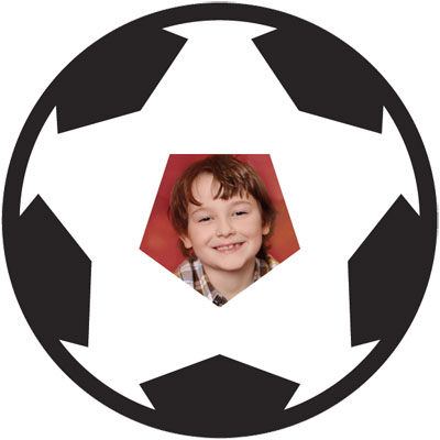 "Passe-partout a tema ""Fußball"""
