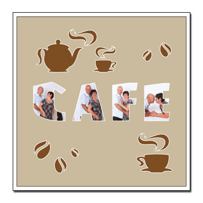 "Passe-partout a tema ""caffè"""